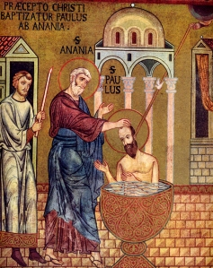 The Baptism of Saul